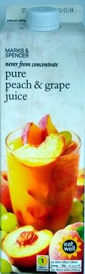 Pure Peach & Grape Juice