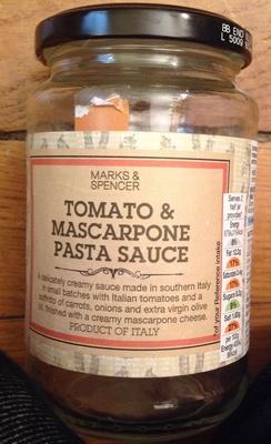 Tomato & Mascarpone Pasta Sauce