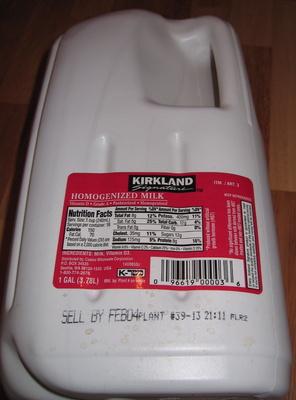 Homogenized Milk Vitamin D