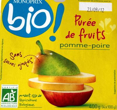 Purée de fruits Bio