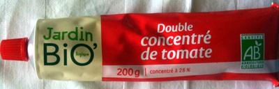 Double concentré de tomate Bio (28%) (Voir 3478820003186)