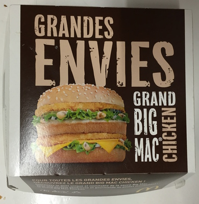 Grand Big Mac Chicken