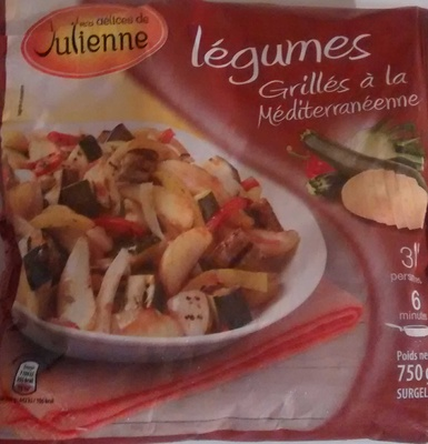 Légumes grillés à la méditerranéenne