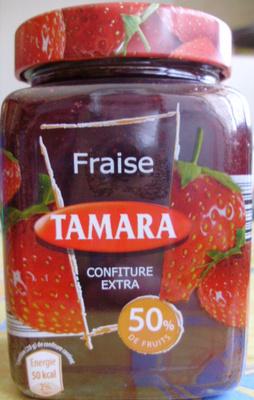 Confiture extra de fraise (50% de fruits)