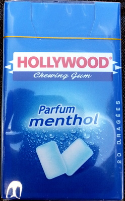 Chewing gum parfum menthol