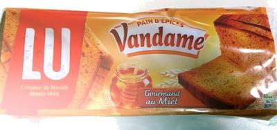 Pain d'épices Vandame gourmand au Miel