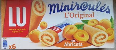 Miniroulés L'original aux Abricots