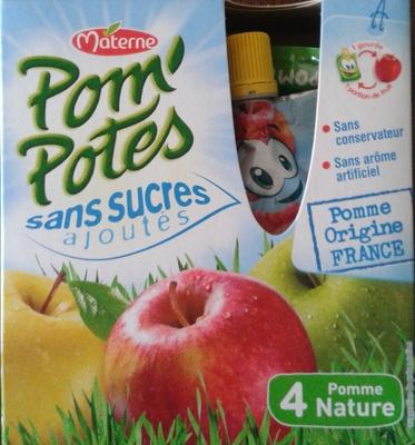 Pom'Potes - 4 Pomme Nature