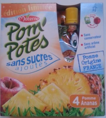 Pom' Potes 4 Pomme Ananas