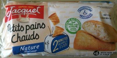 Petits pains chauds Nature