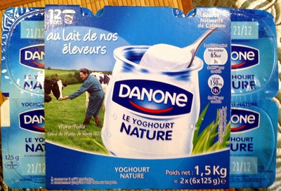 Le Yoghourt (Nature) 12 Pots