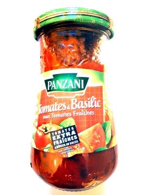 Sauce Tomates & Basilic aux Tomates fraîches