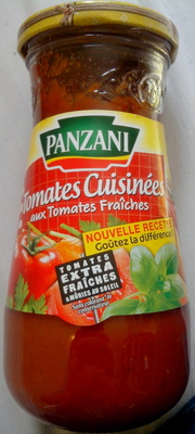 Tomates cuisinées aux tomates fraîches