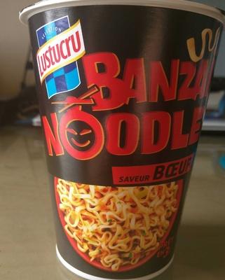 Banzai Noodle Saveur Boeuf