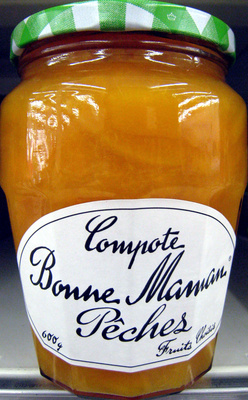 Compote Pêches Bonne Maman