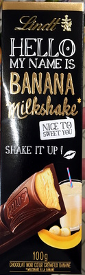 Hello my name is Banana Milkshake
