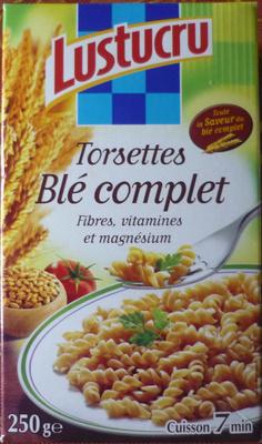Torsettes (Blé complet)