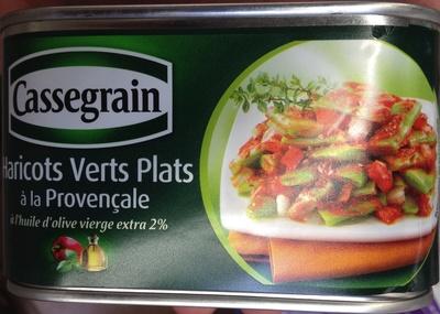 Haricots verts plats à la Provençale