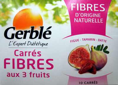 Carrés fibre aux 3 fruits Gerblé