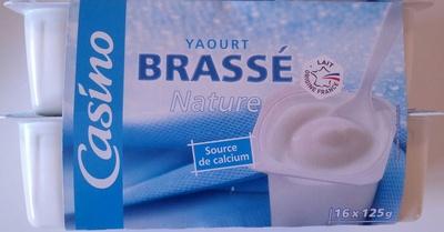 Yaourt Brassé Nature (16 pots)