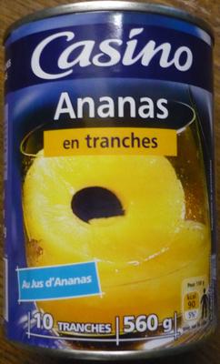 Ananas en tranches