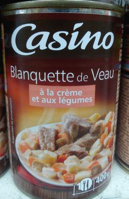 Blanquette de Veau à la crème et aux légumes
