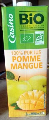 100% pur jus Pomme Mangue