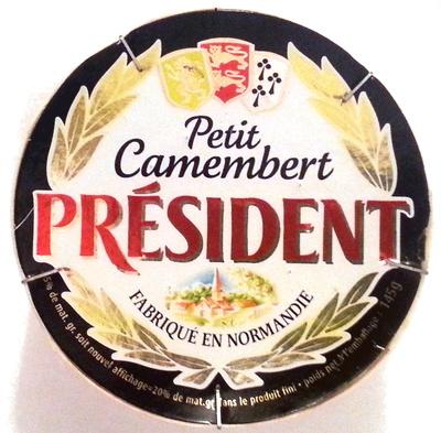 Petit Camembert (20% MG) - 145 g - Président