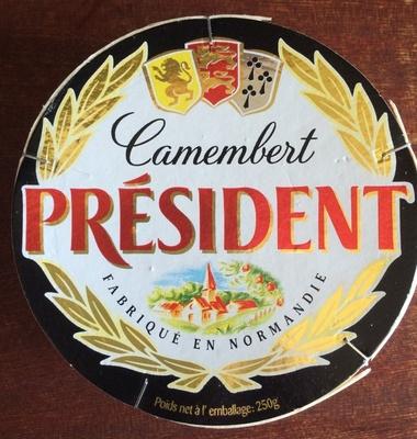 Camembert président (21% MG)