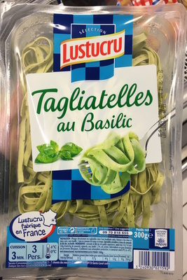 Tagliatelles au basilic