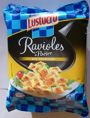 Ravioles à poêler aux fromages