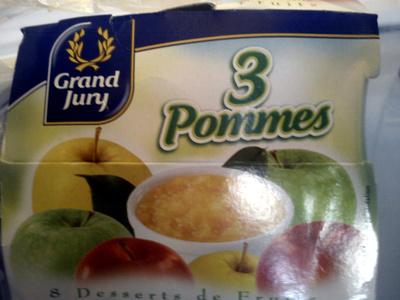 8 Desserts de Fruits, 3 Pommes