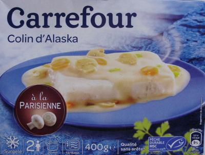 Colin d'Alaska à la Parisienne, Surgelé