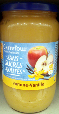 Compote Pommes Vanille Carrefour