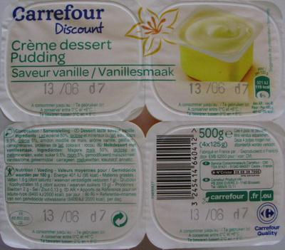Crème dessert Saveur Vanille