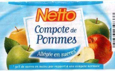 Netto Compote de pommes Allégée en sucres