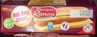 Mon snack Hot Dog emmental & sauce moutarde - Produit
