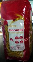 Pâtes macaroni - 500 g - Auchan - Produit