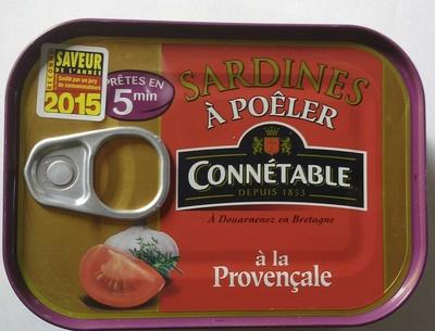 Sardines à poêler à la Provençale