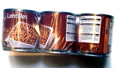 Lentilles (Lot de 3 boîtes)