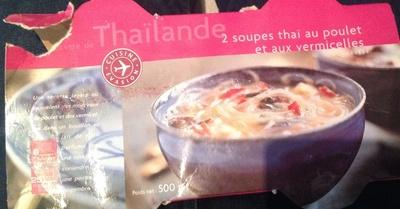 Soupes thai poulet / vermicelle