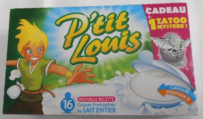 gluten dans P'tit Louis® (26% MG) - 320 g (16 Coques)