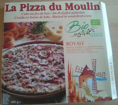 gluten dans pizza royale bio