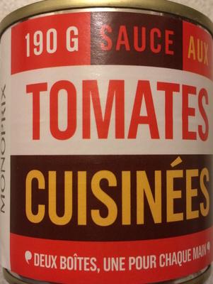 Sauce aux tomates cuisinées
