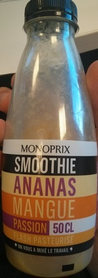 Smoothie Ananas Mangue Passion