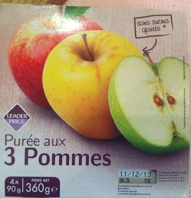 Purée aux 3 Pommes