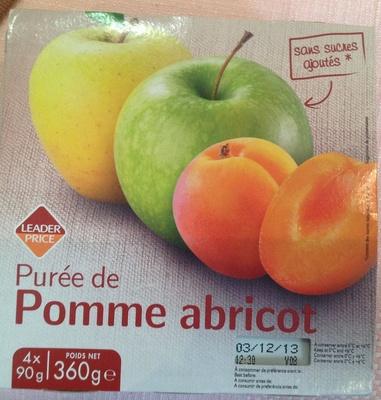 Purée de Pomme abricot