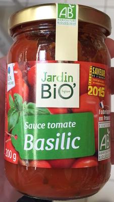 sauce tomate Basilic Jardin BIO