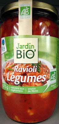 Ravioli Légumes - 675 g - Jardin Bio