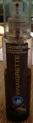 Combien de calories dans vinaigrette en spray huile d 39 olive 70 vinaigre balsamique 30 65 - Vinaigre balsamique calorie ...